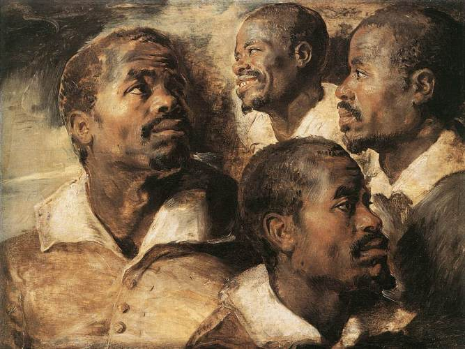 Rubens-Four-Studies-of-the-Head-of-a-Negro