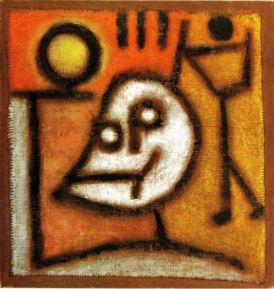 Klee; Death and Fire, 1940