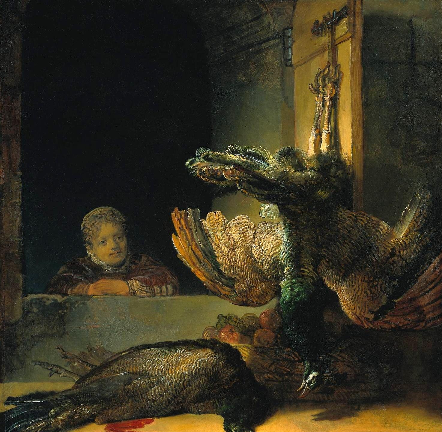 Rembrandt_Harmensz._van_Rijn_Dead_peacocks_1639