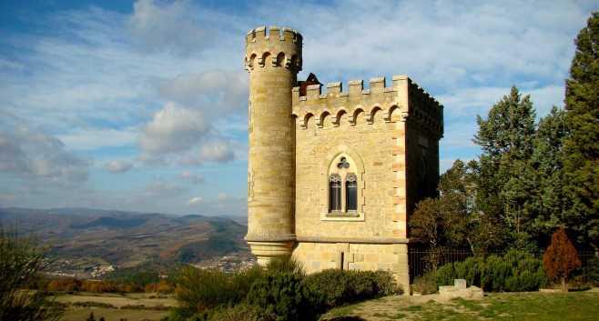 La tour Magdala à Rennes-Le-Chateau (France)