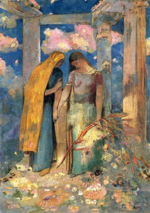 Mystical Conversation - c.1896