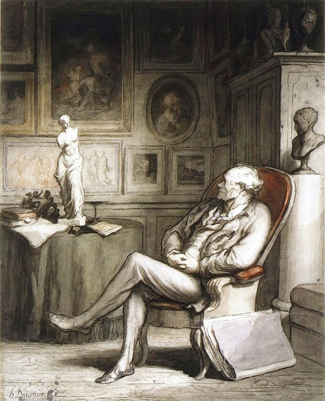 daumier-the-connoisseur