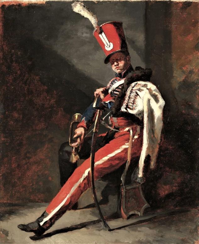gericault-trompette-hussards-orleans
