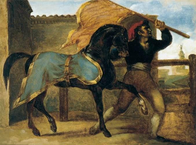 Théodore_Géricault_-_The_Horse_Race_-_WGA08628