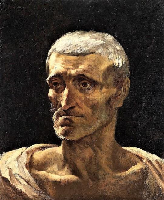 Theodore Géricault- POrtrait de Naufragé- MBA de BEsançont