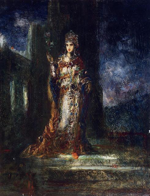 Moreau Gustave - La fiancée de la nuit