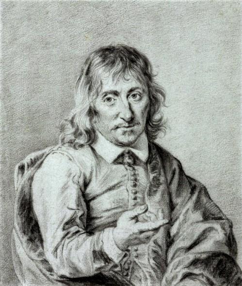 René_Descartes_by_Jan_Lievens,_c._1644–49,_Groninger_Museum._Black_chalk,_241_x_206_mm