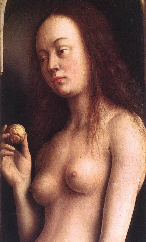 Eyck-Jan-van-The-Ghent-Altarpiece-Eve-detail-23