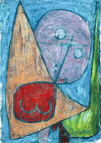 Paul_Klee,_Engel,_noch_weiblich,_1939