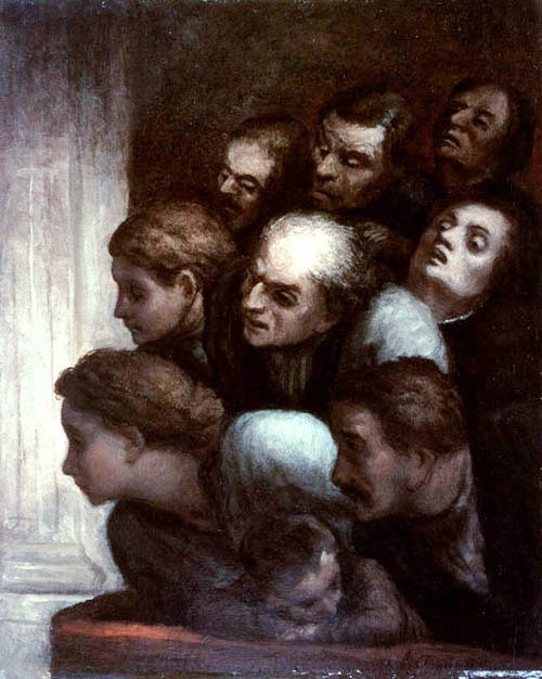 Honore-Daumier-XX-The-Free-Performance