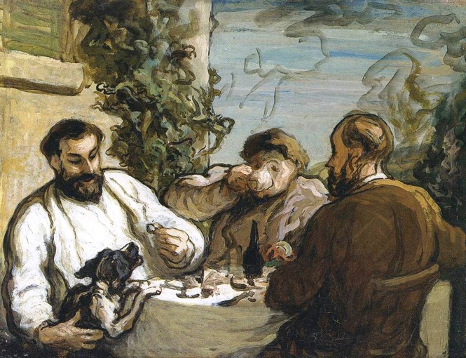 1536(RS)Daumier_Lunch