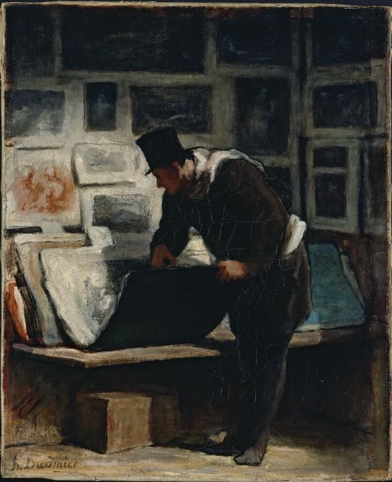 DaumierAmateurEstampe