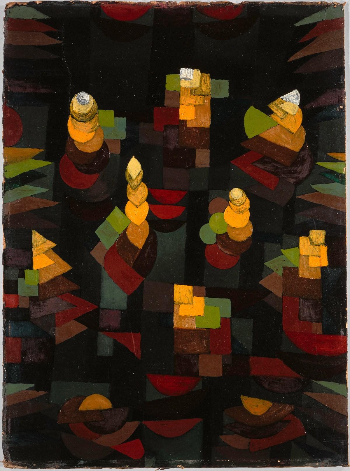 Paul-Klee-Croissance-Pflanzenwachstum-1921-Paris-Centre-Pompidou-Musée-national-dart-moderne-Copyright-Service-documentation-photographique-MNAM-Centre-Pompidou-MNAM-CCI-Dist.-RM-Copyright-DR
