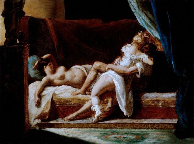 Trois amoureux, 1820