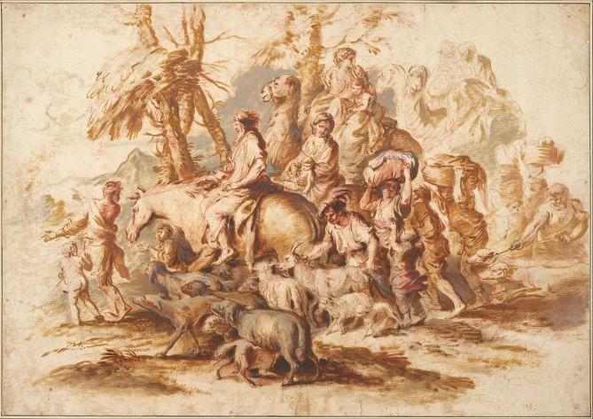 Giovanni_Benedetto_Castiglione_-_Jacob´s_Return,_c.1647-1651_-_Google_Art_Project