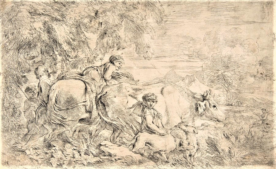shepherds-with-their-flock-giovanni-benedetto-castiglione