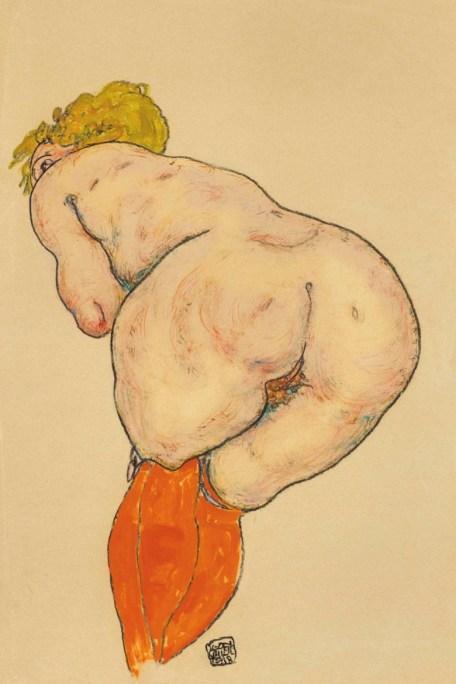 2018_NYR_15972_0139_000(egon_schiele_ruckenakt_mit_orangefarbenen_strumpfen)