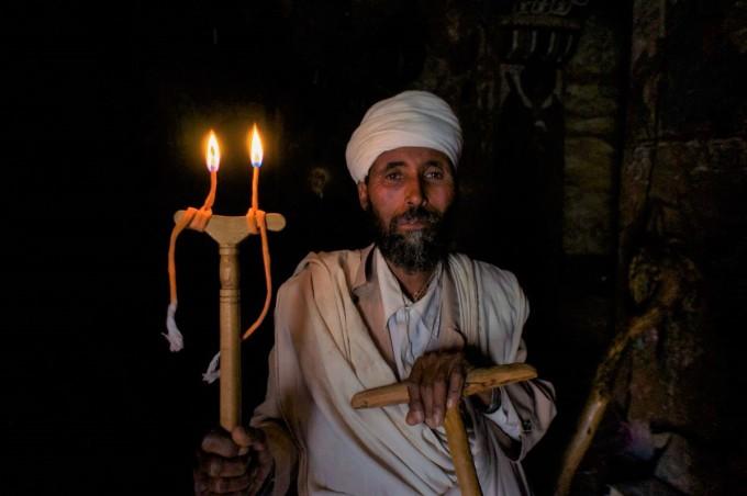 Abouna Yemata . Priest. .Ethiopia