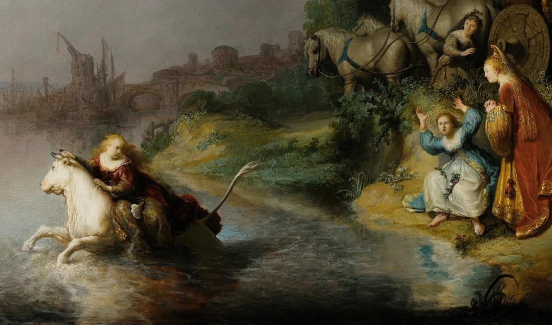 rembrandt-enlevement-d-europe-1632-los-angeles-Paul-Getty-Museum-detail
