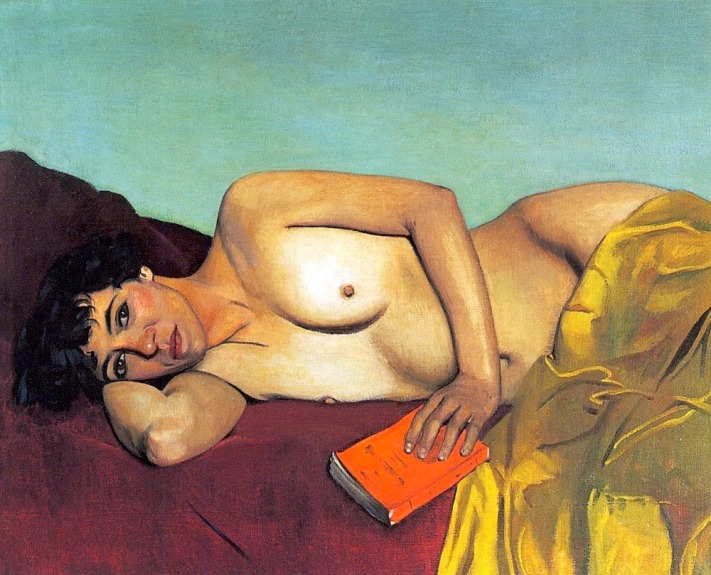 Félix Vallotton - La lecture abandonnée, 1924