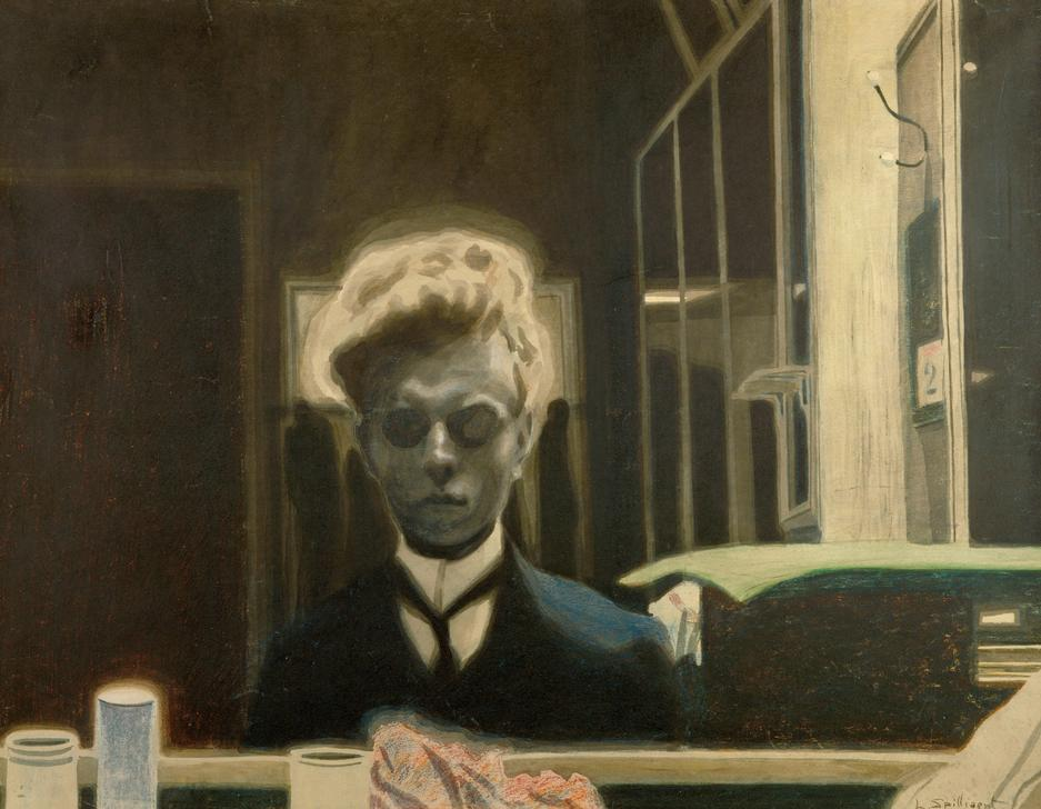 Léon Spilliaert, Selbstbildnis