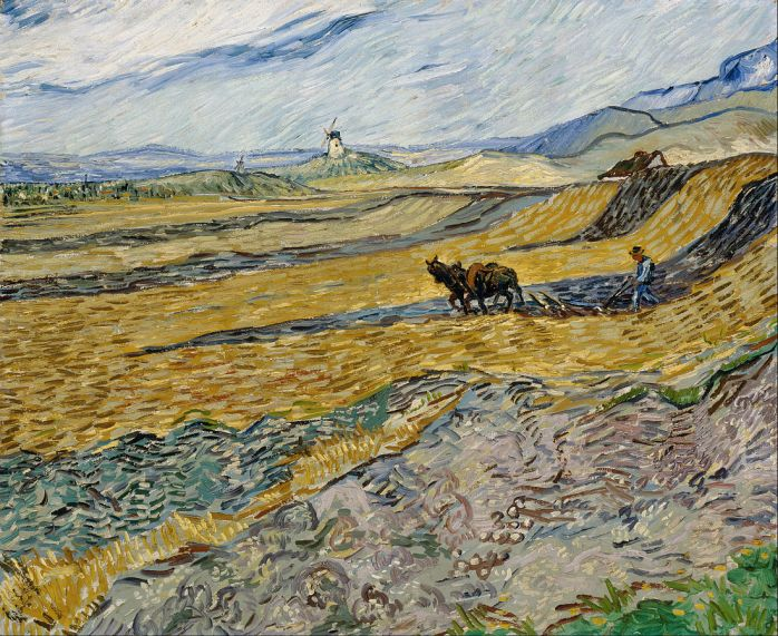 Vincent_van_Gogh_-_Enclosed_Field_with_Ploughman_-_Google_Art_Project
