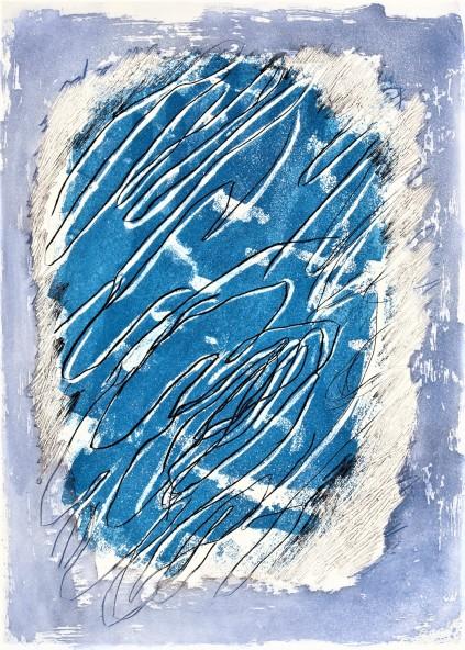 Jean-Fautrier-Ecriture-sur-fond-bleu